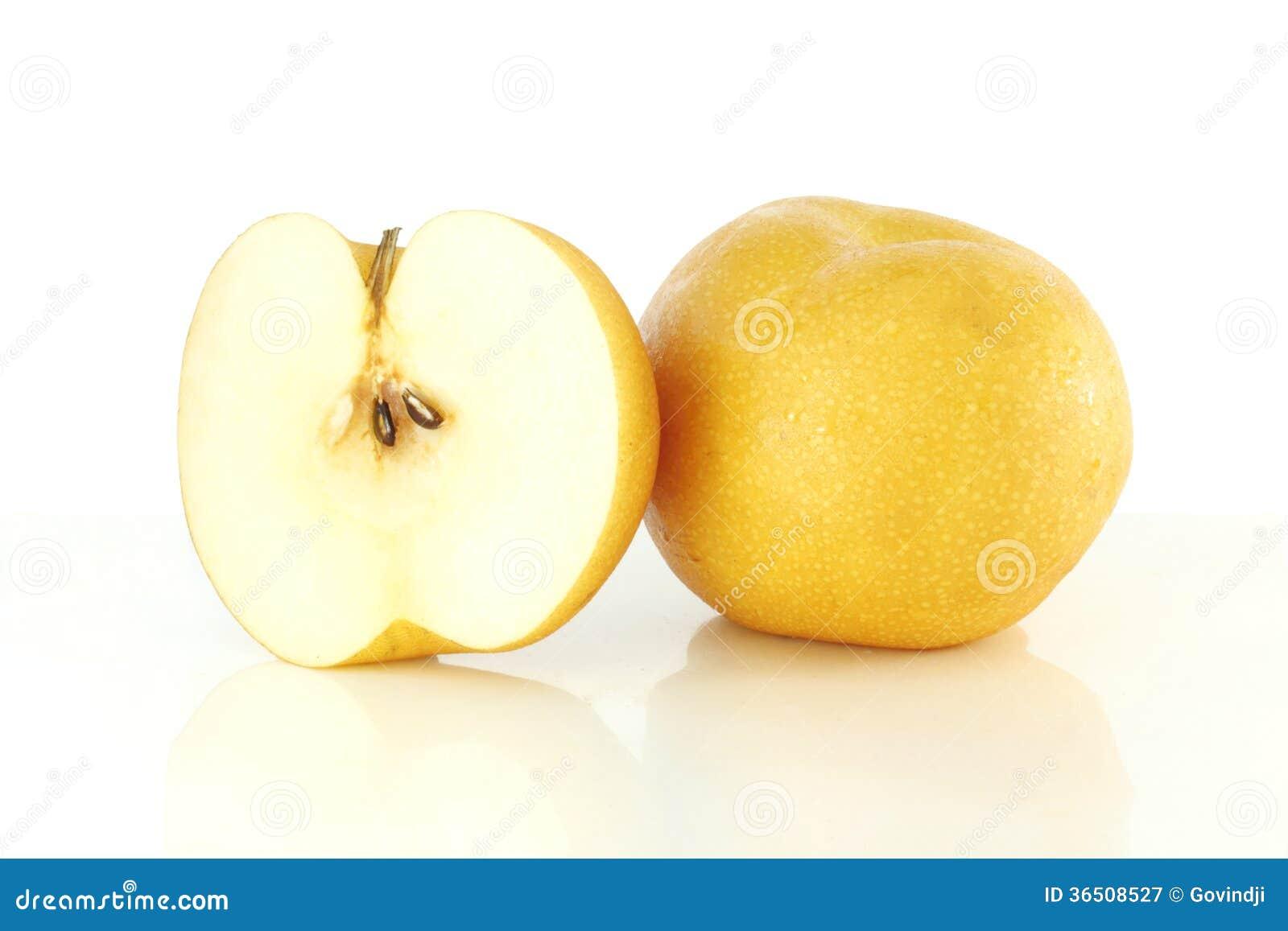 Φρέσκο γλυκό ασιατικό αχλάδι