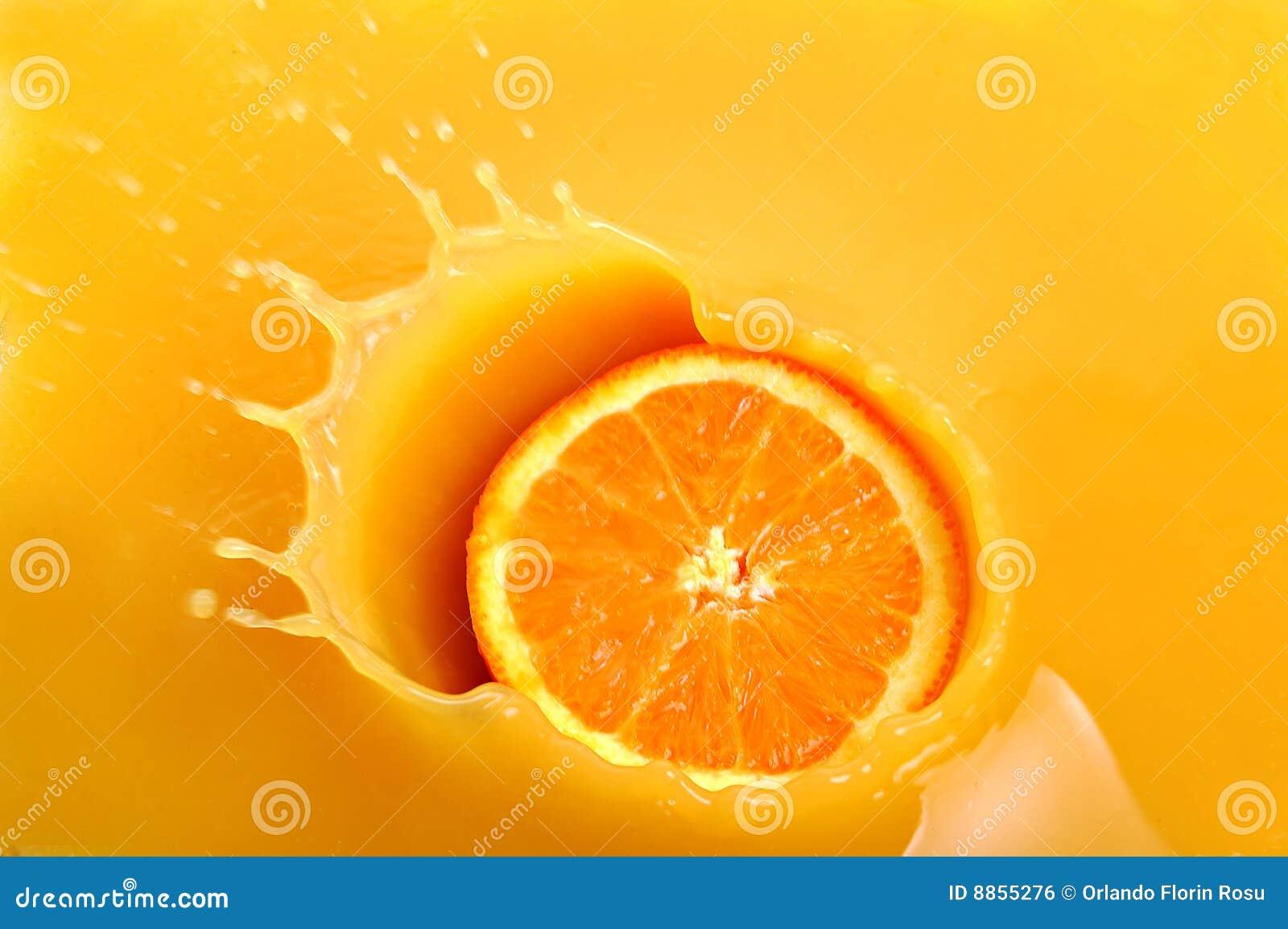 φρέσκο πορτοκάλι χυμού