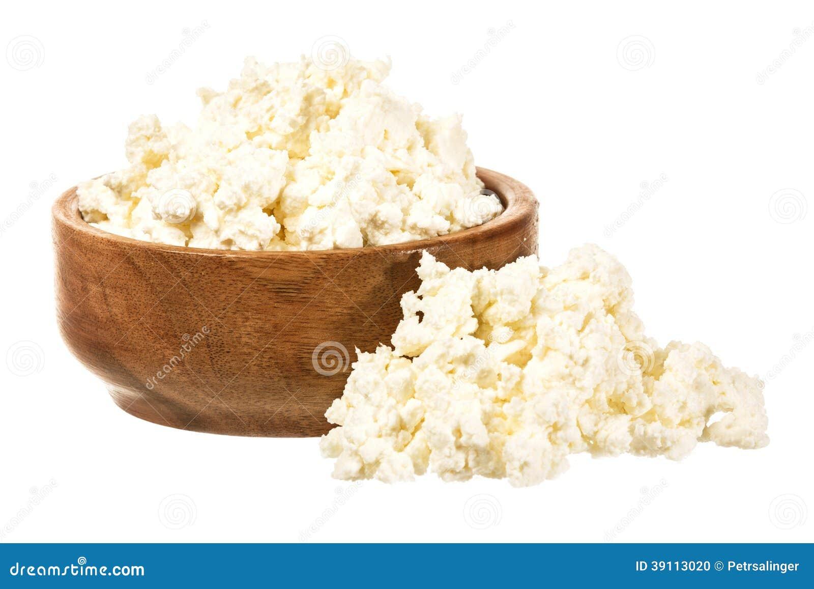Φρέσκο τυρί στάρπης στο κύπελλο