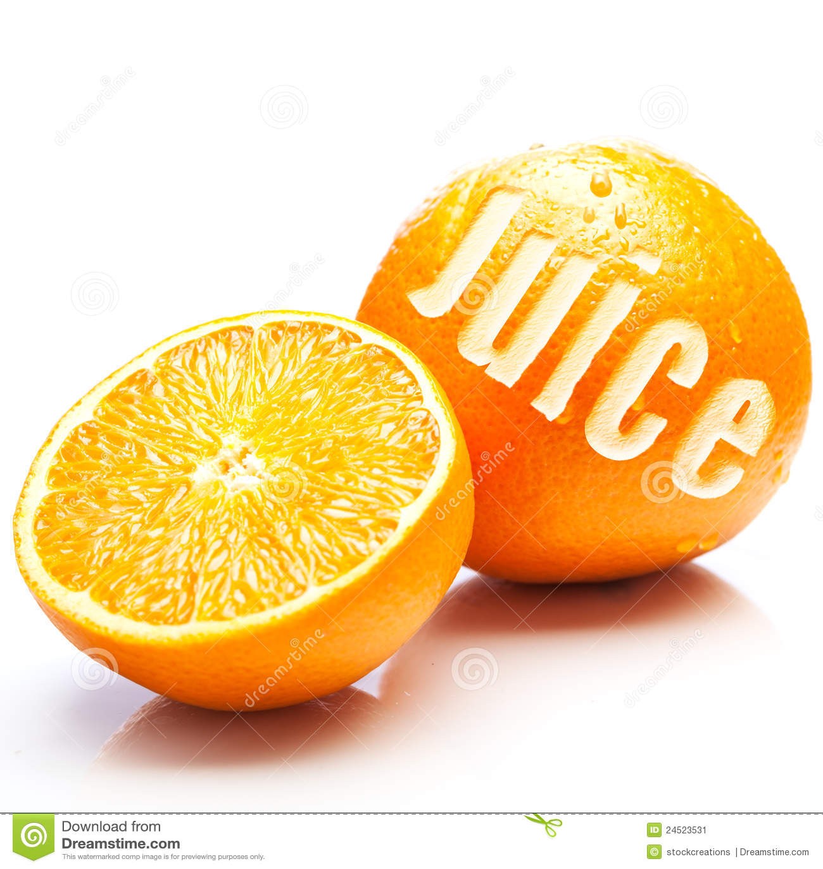 φρέσκο fruity πορτοκάλι χυμού