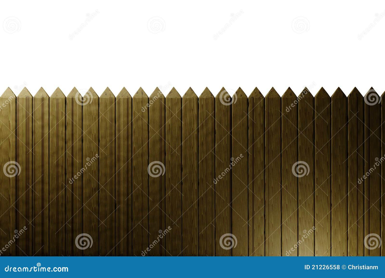 φραγή ξύλινη
