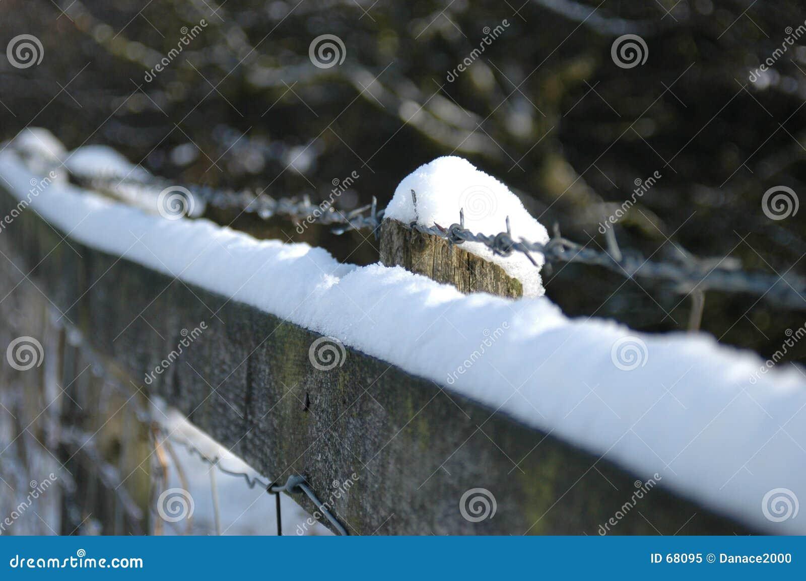 φραγή χιονώδης