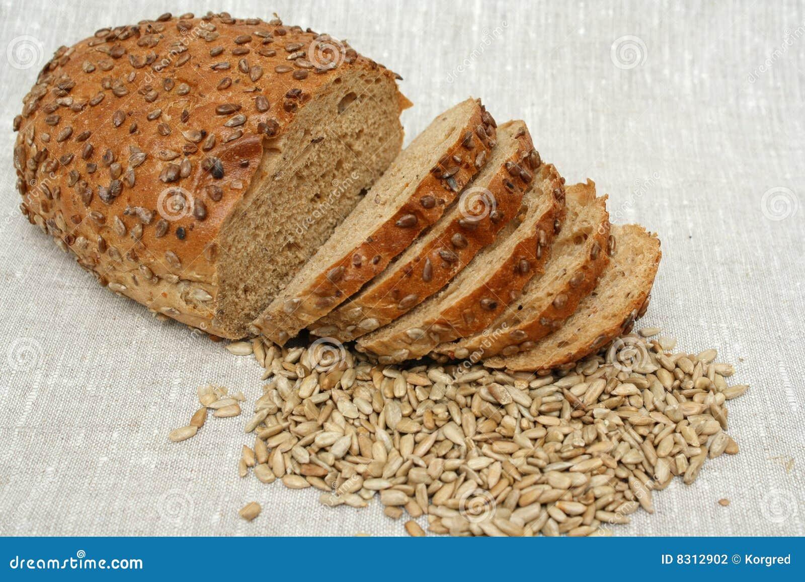 φραντζόλα ψωμιού που τεμα