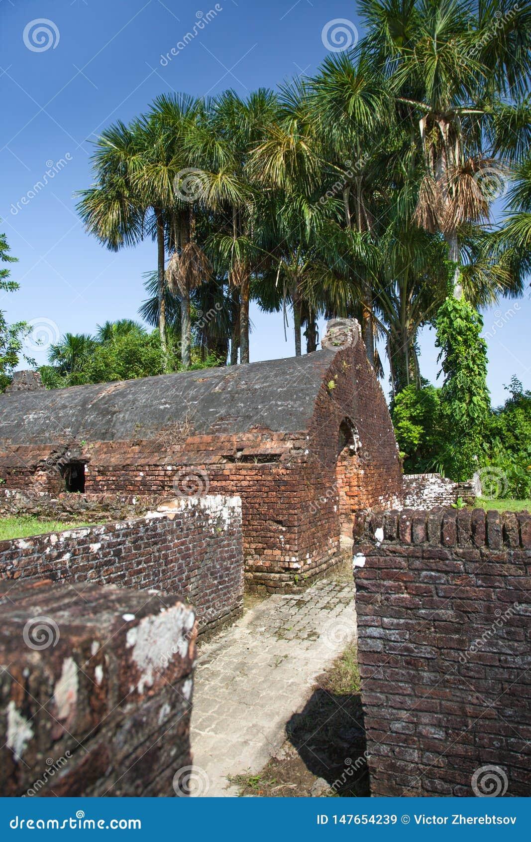 Φρούριο Πυροβόλα όπλα του οχυρού Zeelandia, Γουιάνα Το οχυρό Ζηλανδία βρίσκεται στο νησί του ποταμού Essequibo