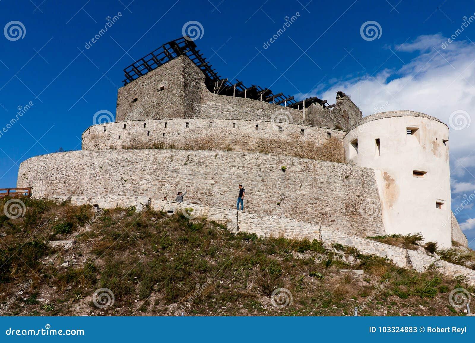 Φρούριο Deva στη Ρουμανία