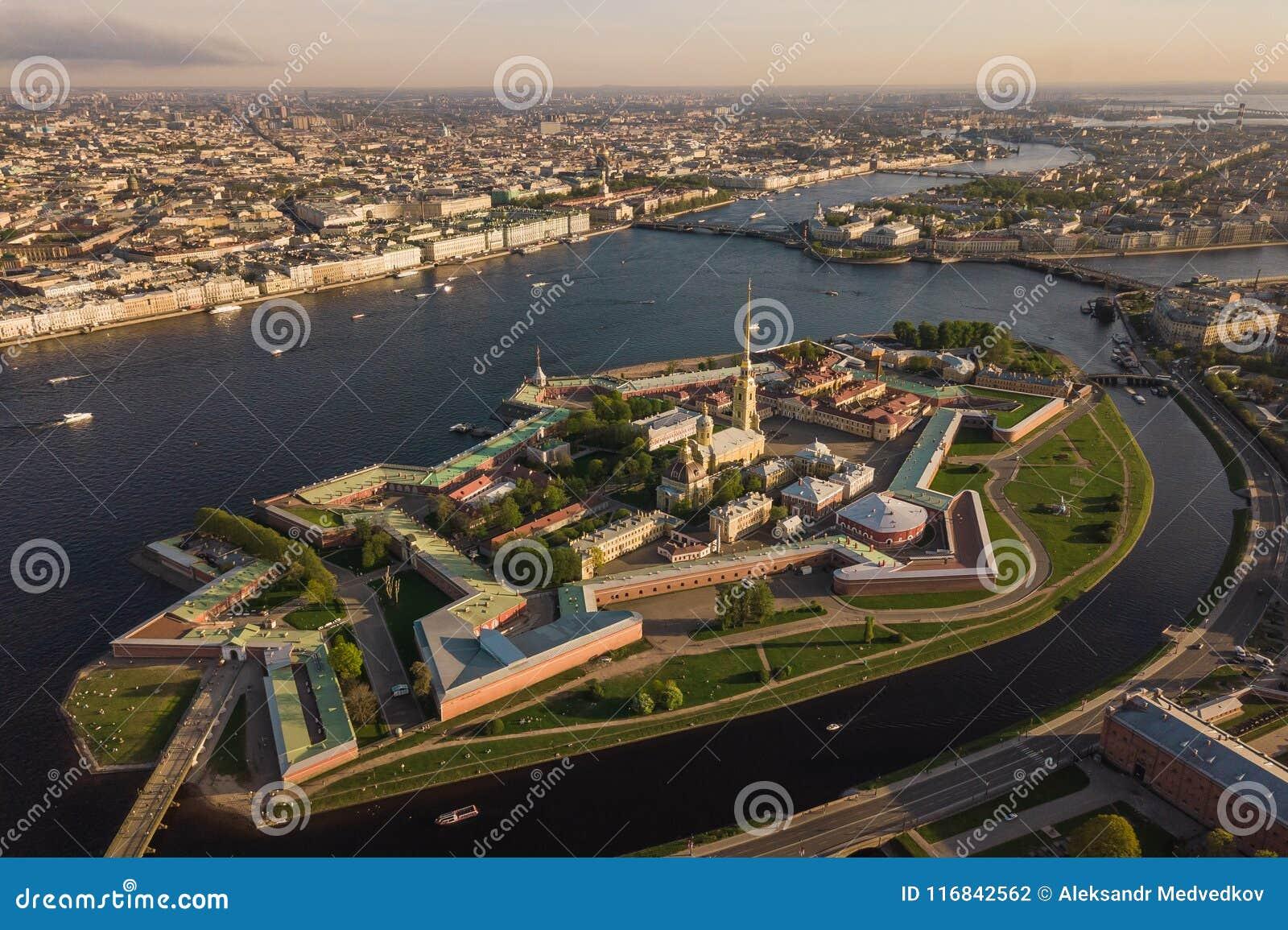φρούριο Paul Peter Πετρούπολη Άγι&omi