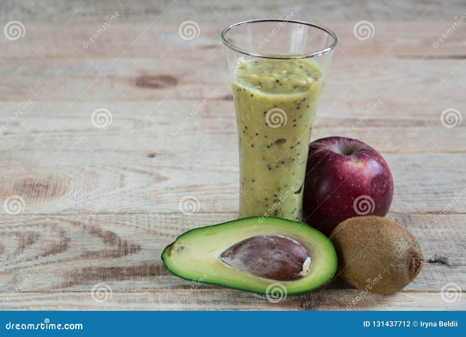 Φρούτα κοκτέιλ Διατροφή αβοκάντο της Apple ακτινίδιων Κατάλληλη διατροφή