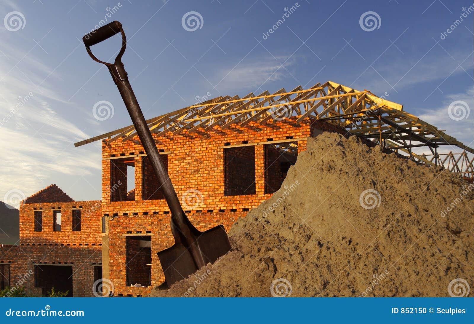 φτυάρι άμμου σπιτιών