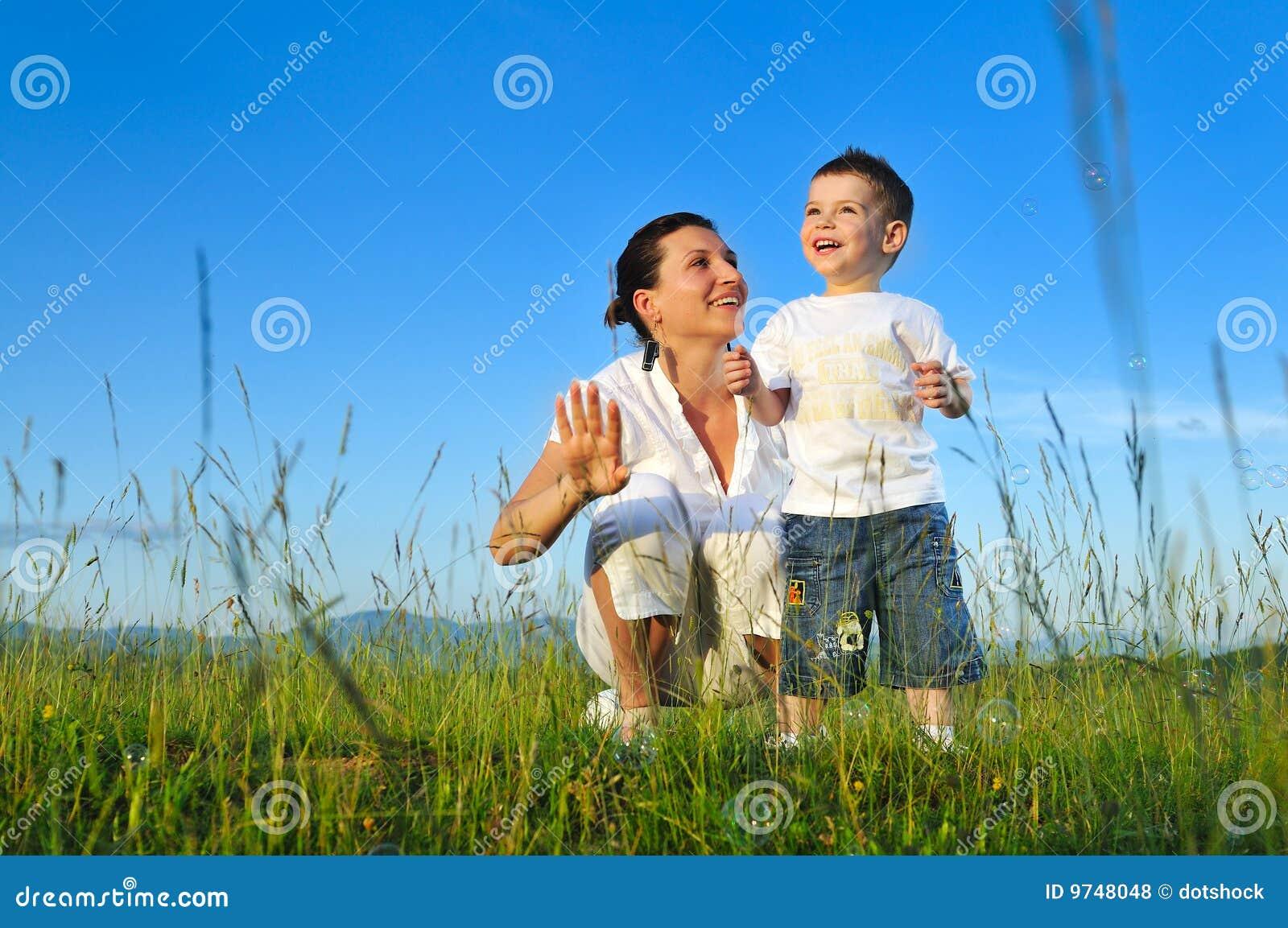 Φυσαλίδα παιδιών γυναικών