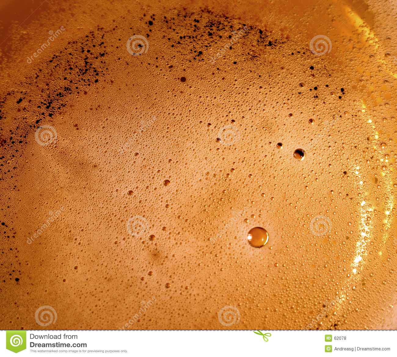 φυσαλίδες μπύρας
