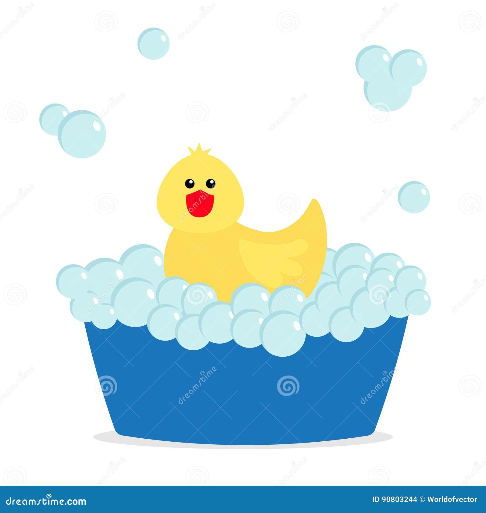 φυσαλίδα λουτρών Κίτρινο λαστιχένιο παιχνίδι πουλιών παπιών Μπανιέρα με τις φυσαλίδες σούπας Χαριτωμένος χαρακτήρας μωρών κινούμε