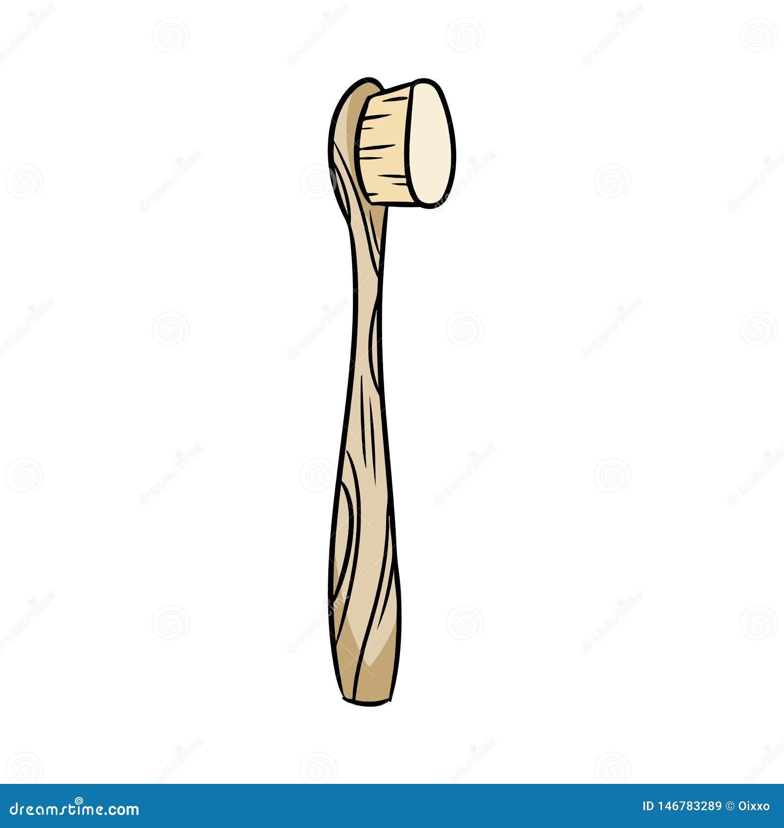 Φυσική υλική οδοντόβουρτσα μπαμπού doodle E E