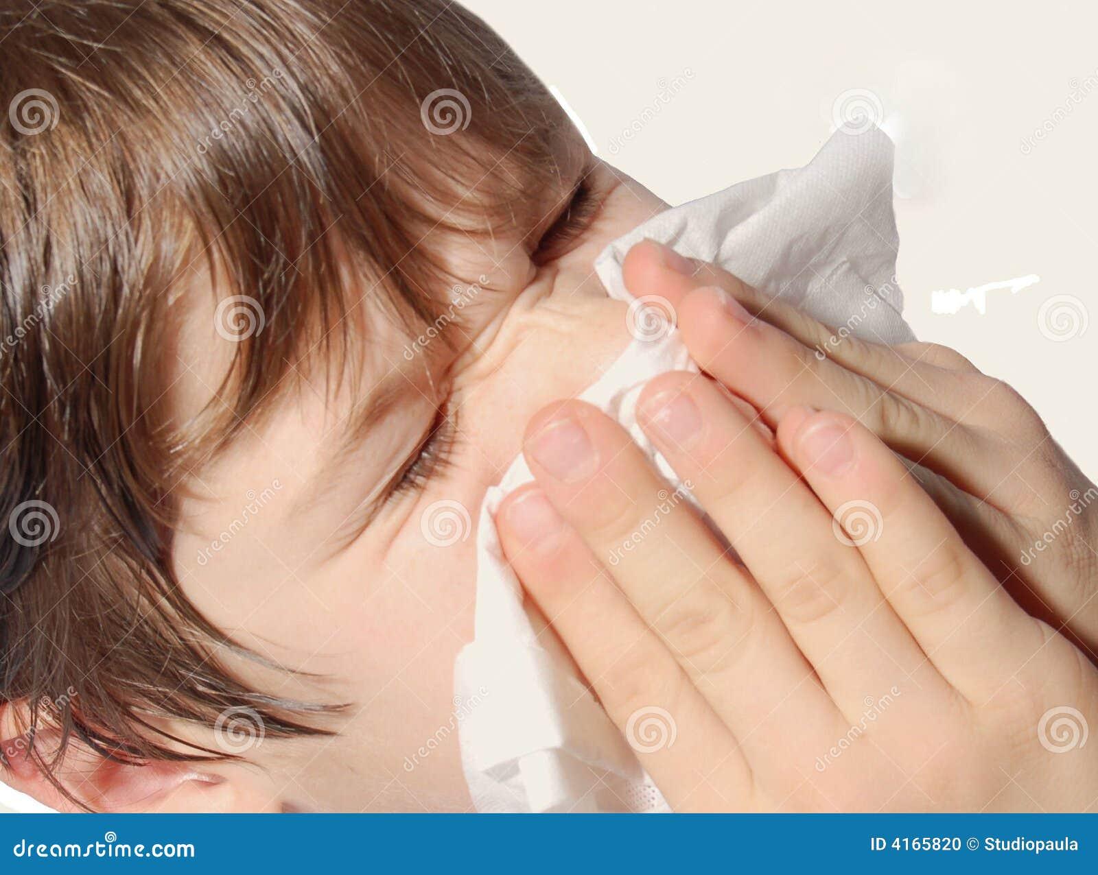 φυσώντας μύτη