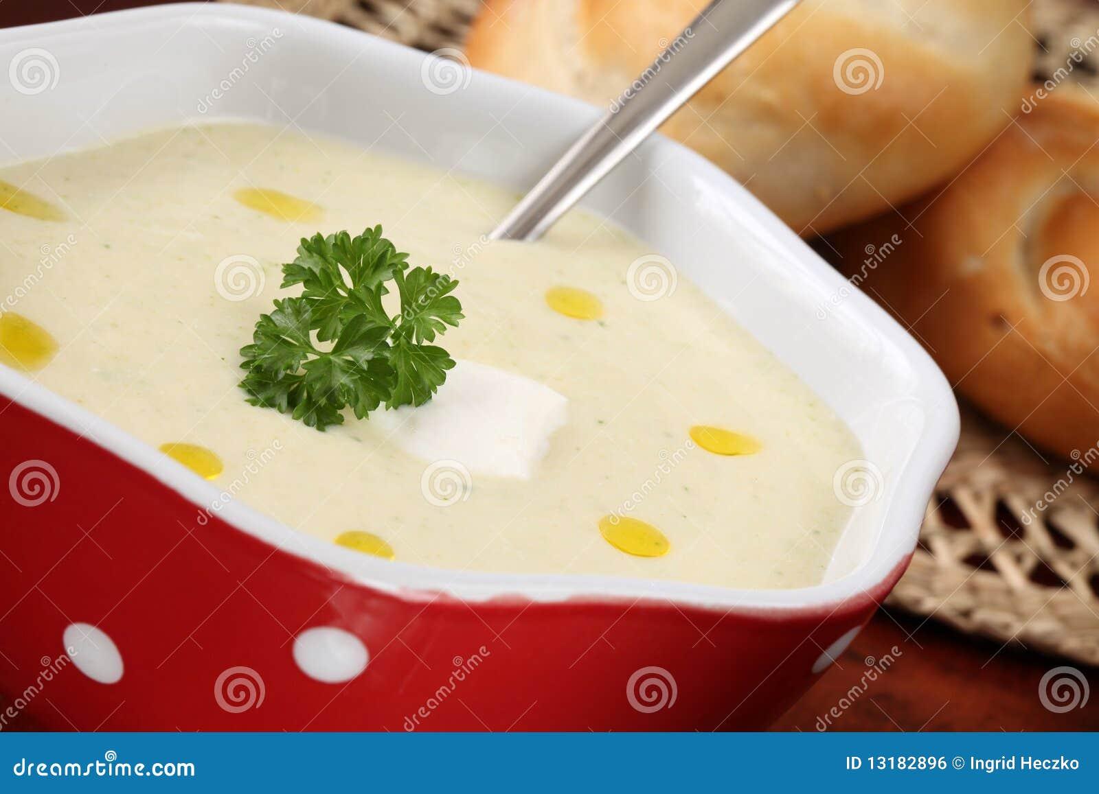 Φυτική σούπα κρέμας