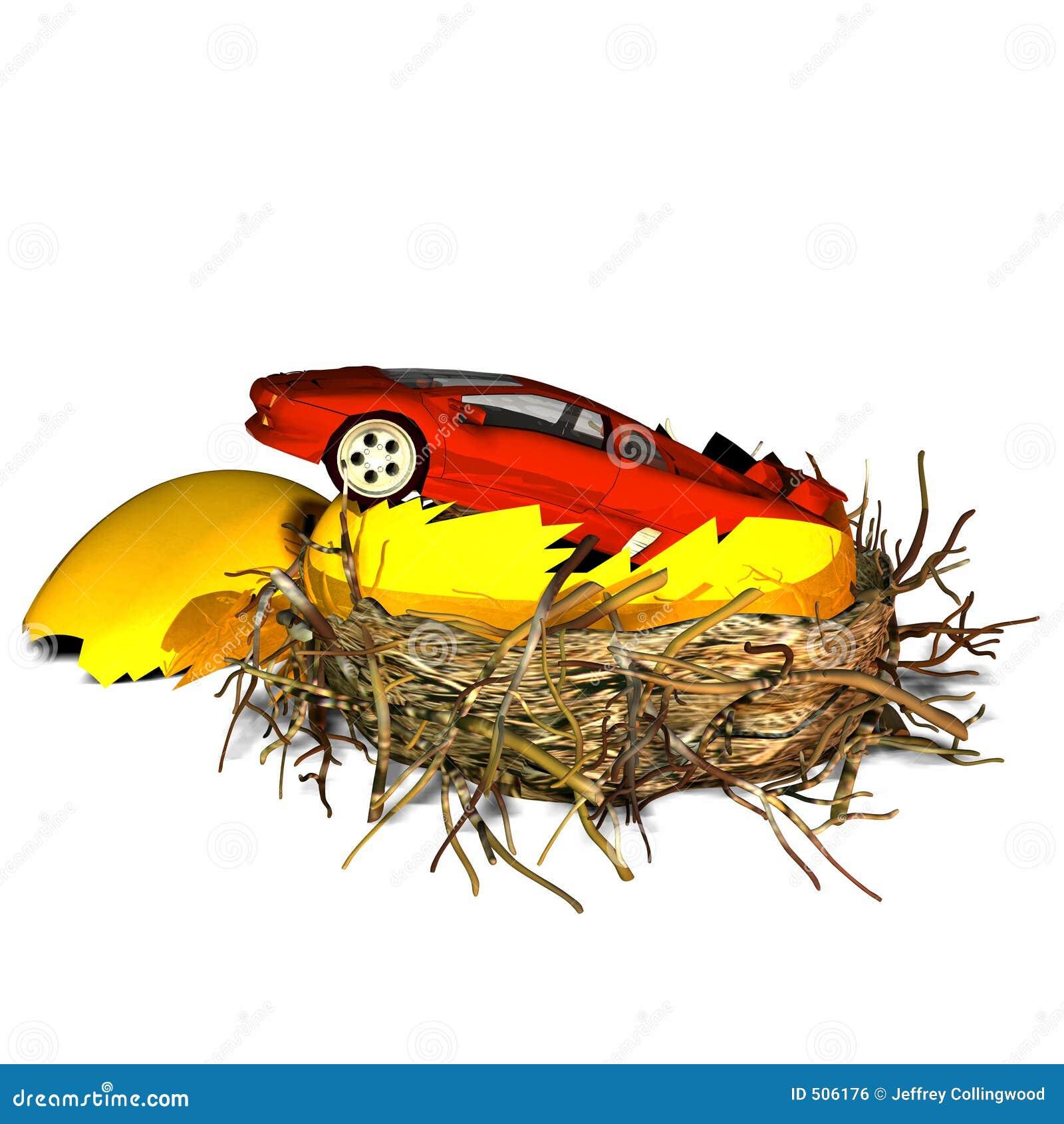 φωλιά αυγών αυτοκινήτων νέα