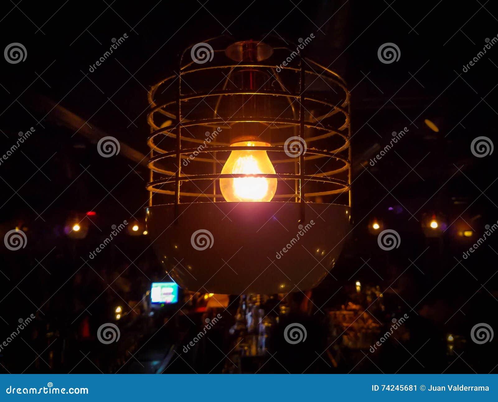 Φως βολβών ταβερνών φραγμών