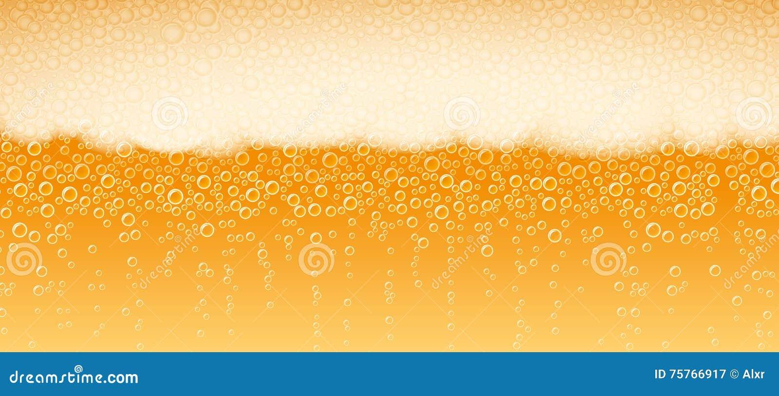 Φως ξανθού γερμανικού ζύού υποβάθρου αφρού μπύρας πικρό