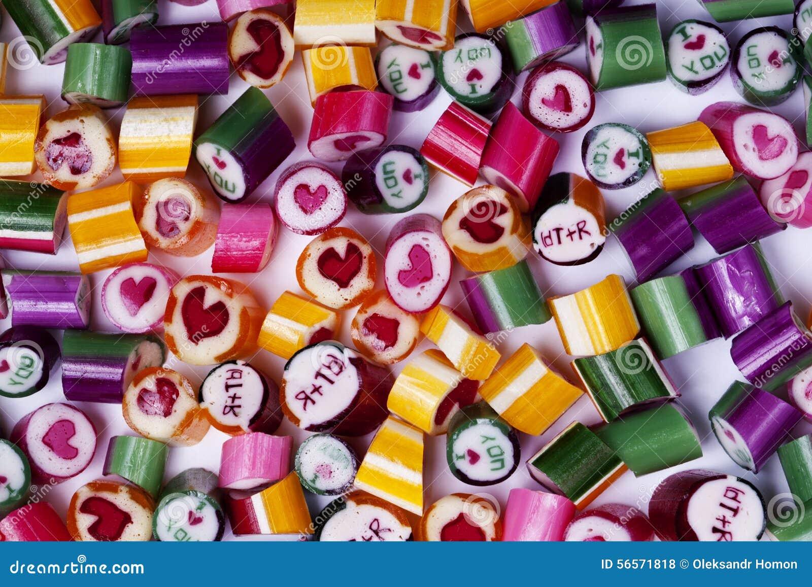 Download Φωτεινή καραμέλα καραμελών υποβάθρου Στοκ Εικόνες - εικόνα από τρόφιμα, arroyos: 56571818