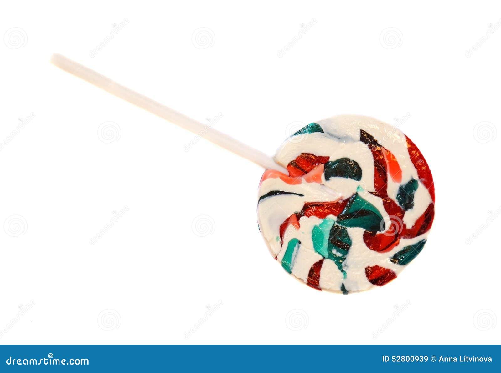 Φωτεινός κύκλος lollipop που απομονώνεται
