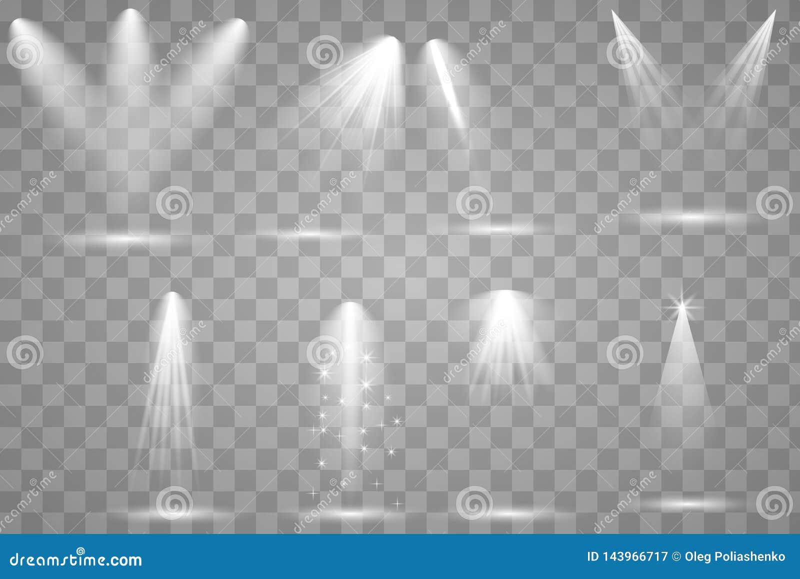 Φωτεινός φωτισμός με τα επίκεντρα