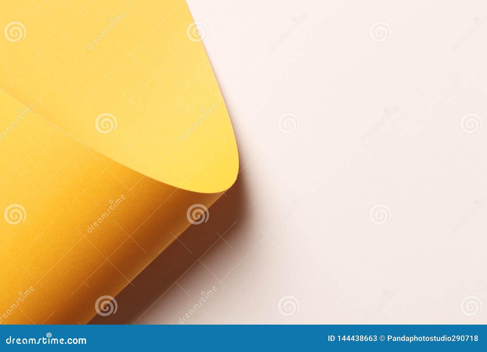 Φωτεινό πορτοκαλί αφηρημένο κενό υπόβαθρο εγγράφου