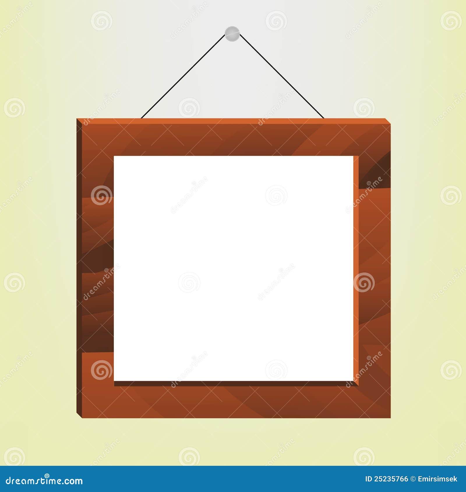 φωτογραφία πλαισίων ξύλινη
