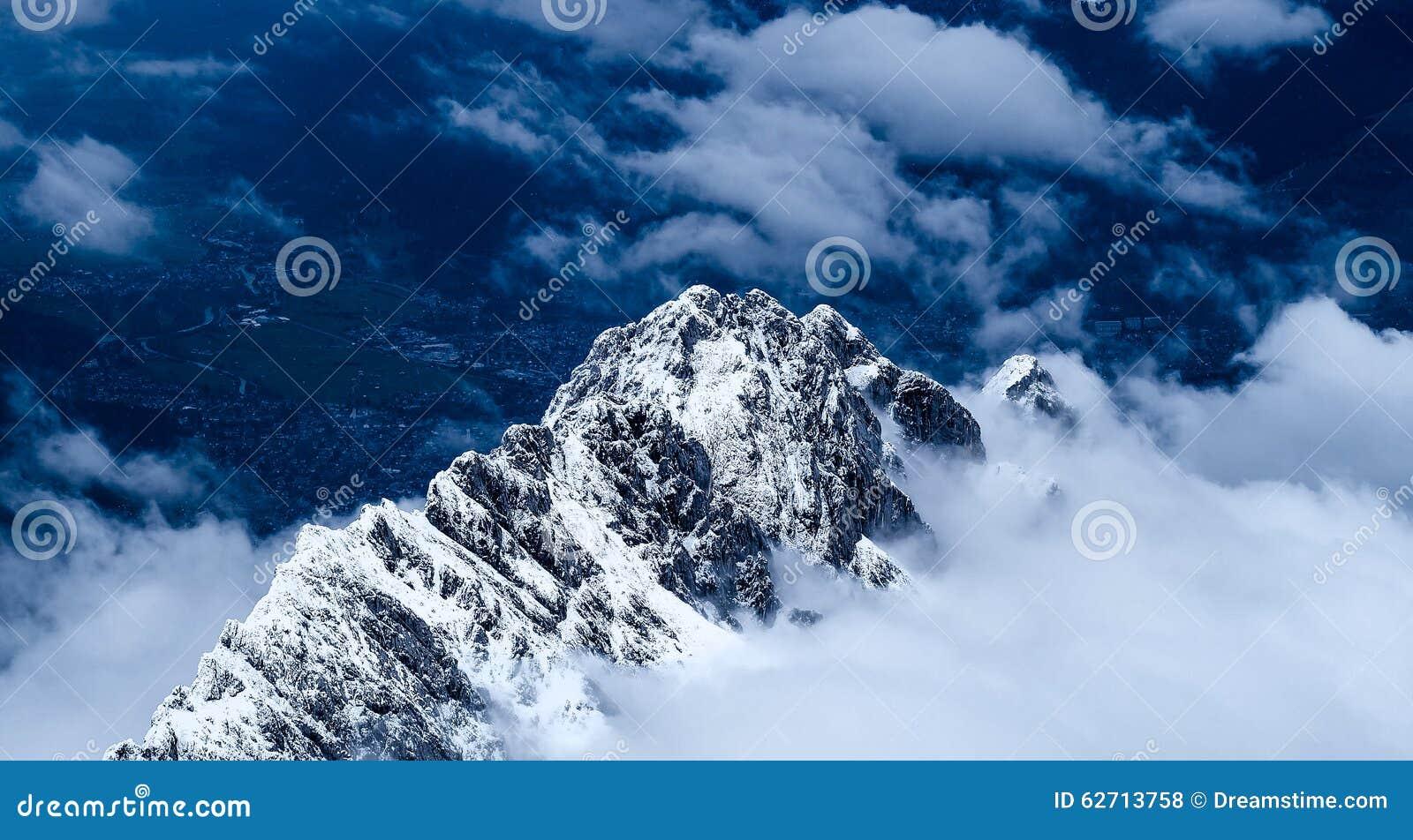 Φωτογραφία ταξιδιού Zugspitze - υψηλότερη αιχμή Germany's