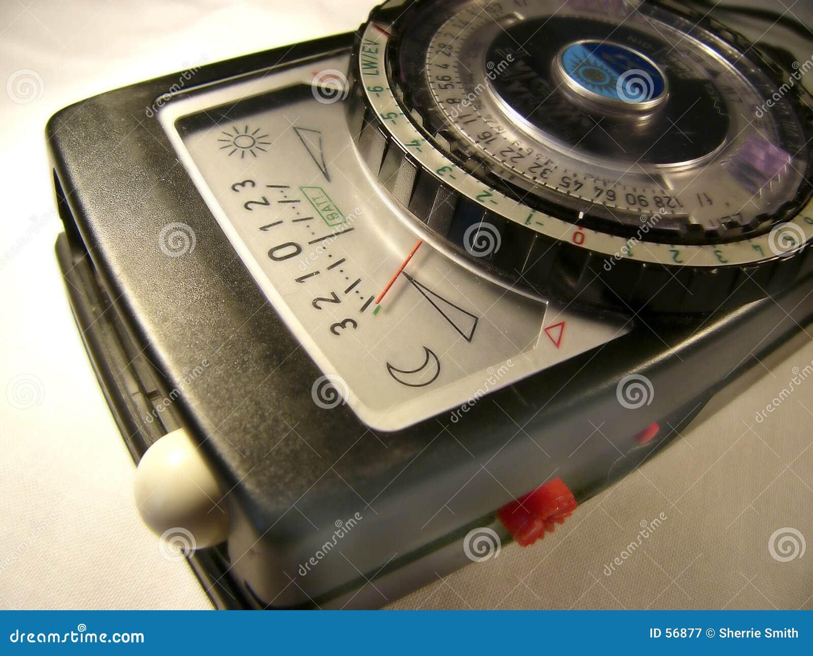 Download φωτόμετρο παλαιό στοκ εικόνα. εικόνα από ένταση, αντανακλαστικός - 56877
