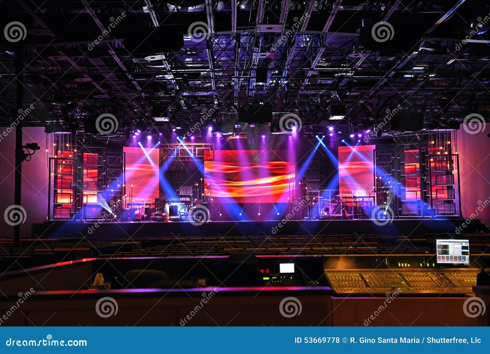 Φω τα σκηνών συναυλίας