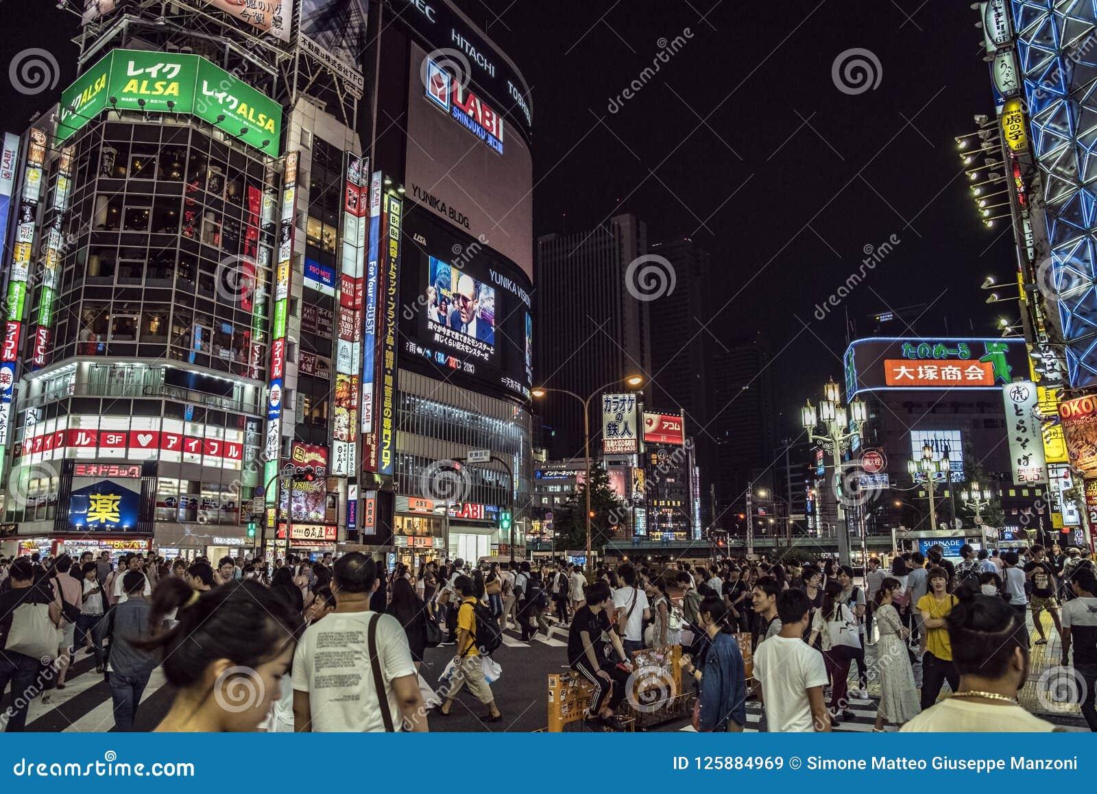 Φω τα Kabukicho, Τόκιο, Ιαπωνία