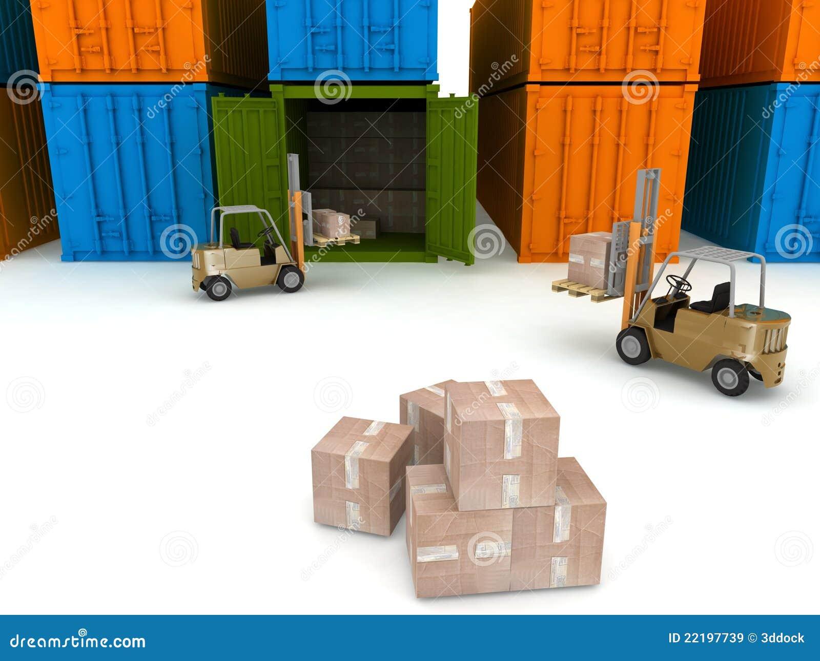 φόρτωση εμπορευματοκιβ&