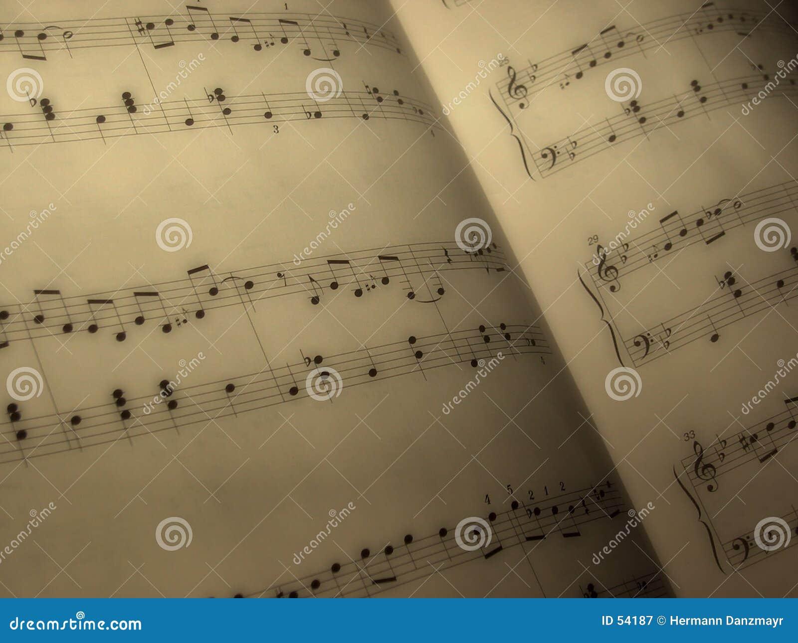 φύλλο μουσικής