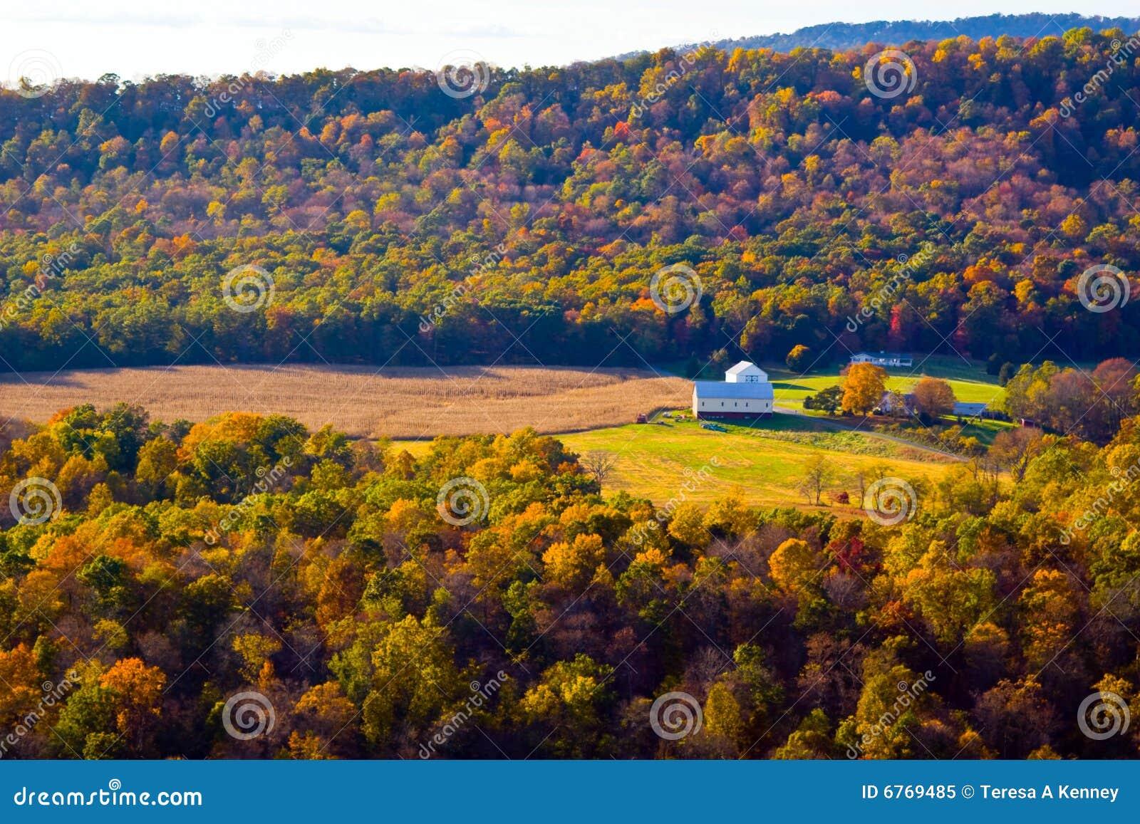 φύση s χρωμάτων φθινοπώρου