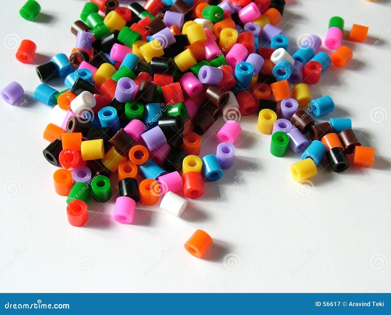 χάντρες plasic