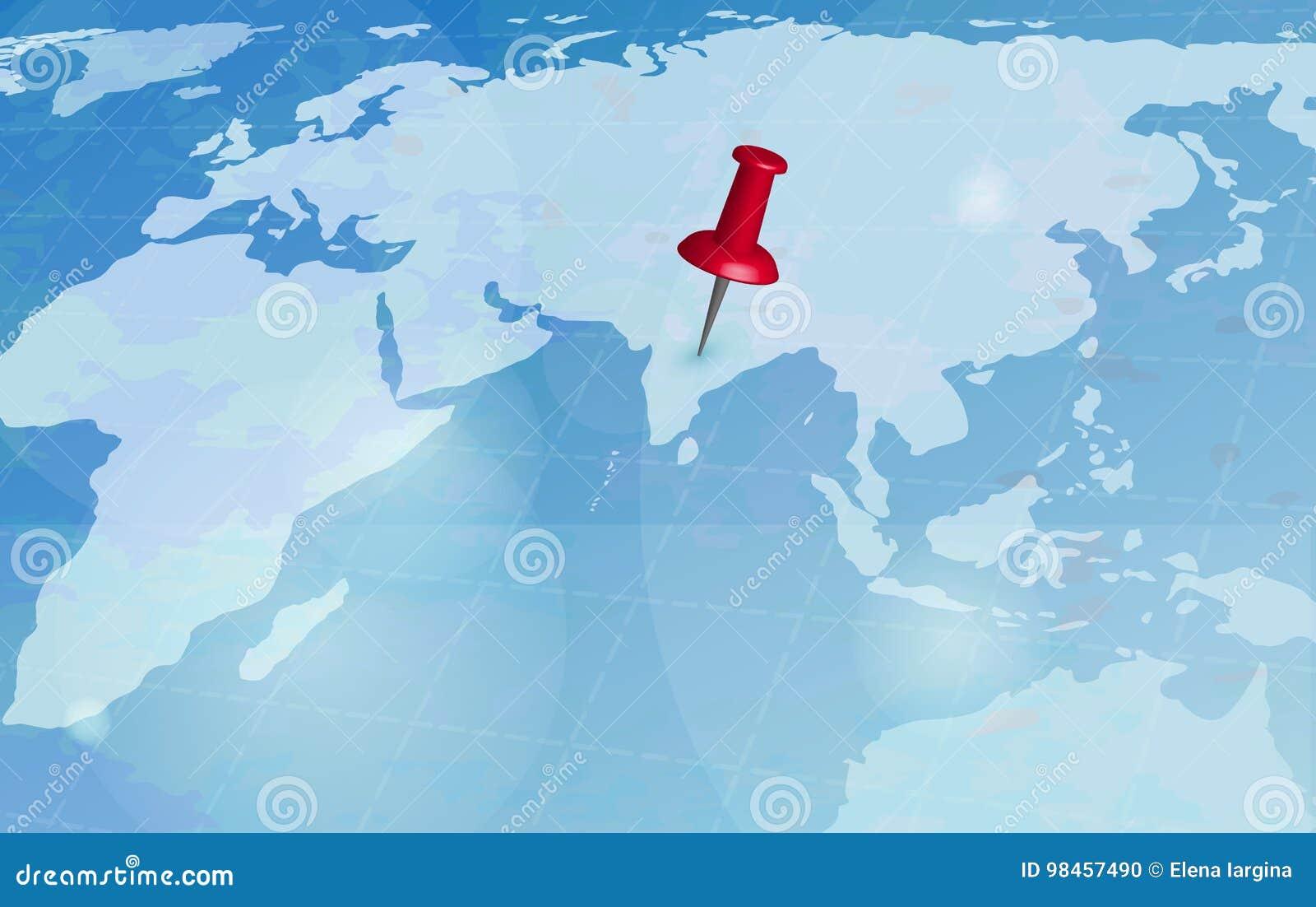 Χάρτης παγκόσμιου ταξιδιού