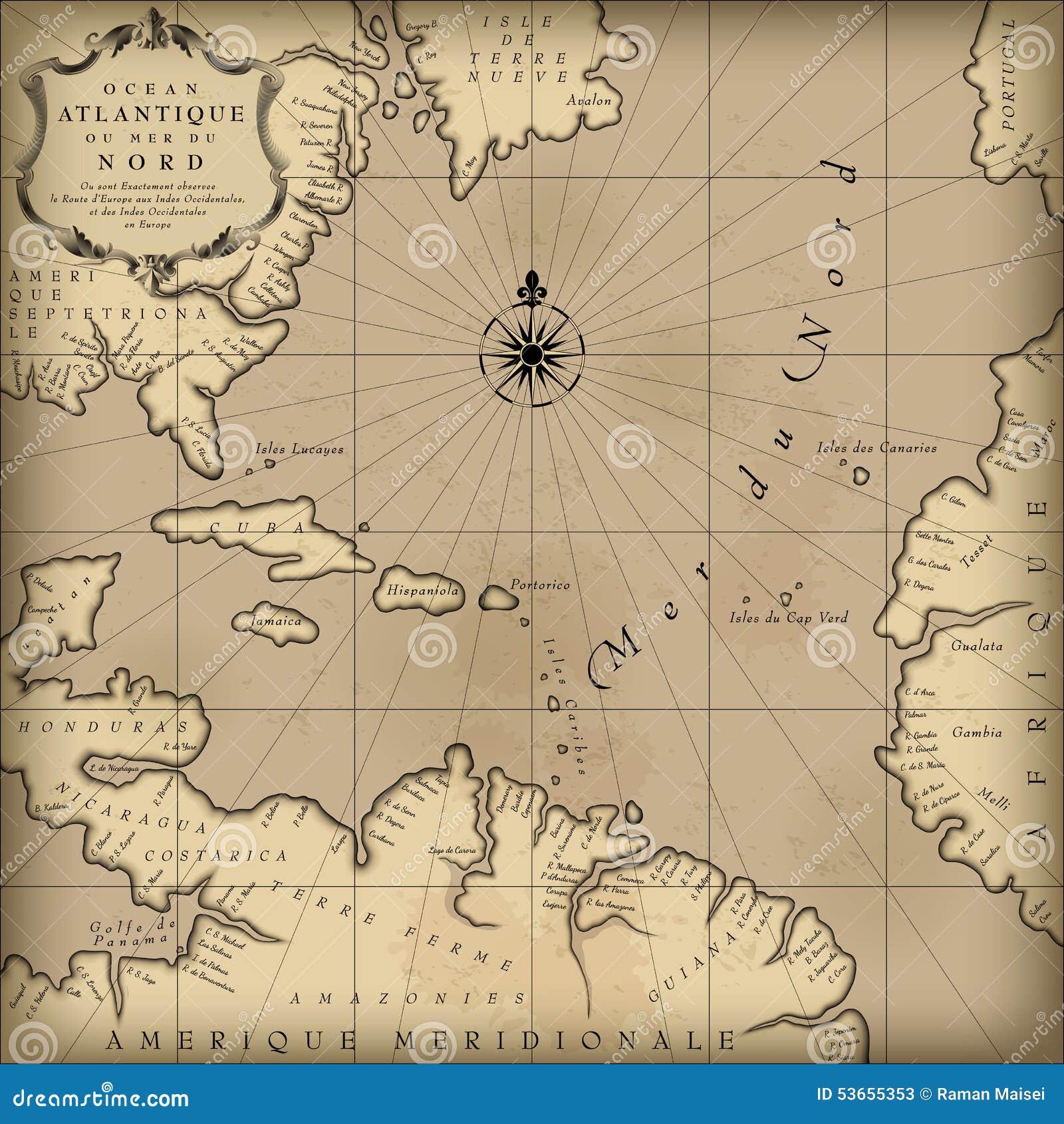 χάρτης παλαιός