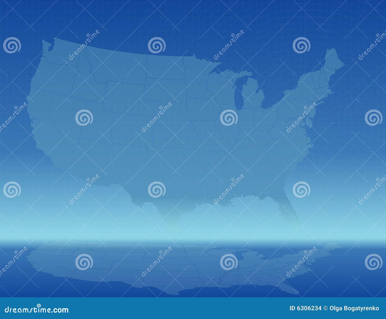 χάρτης της Αμερικής