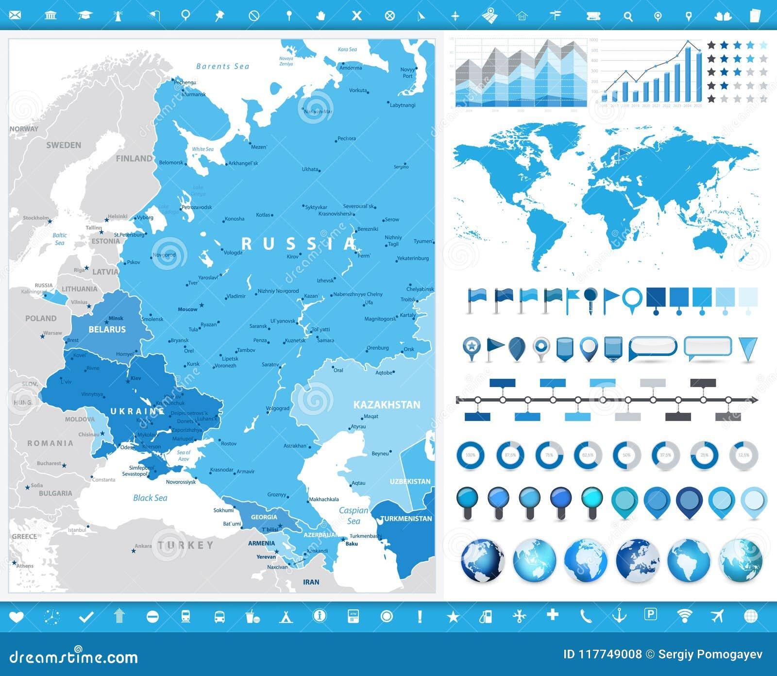 Xarths Ths Anatolikhs Eyrwphs Kai Infographic Stoixeia