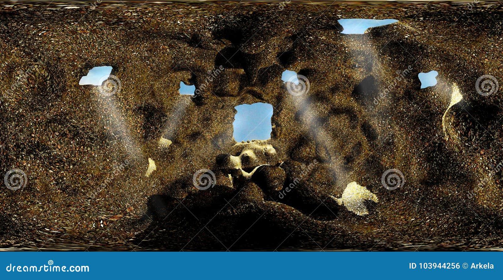Χάρτης HDRI της σπηλιάς