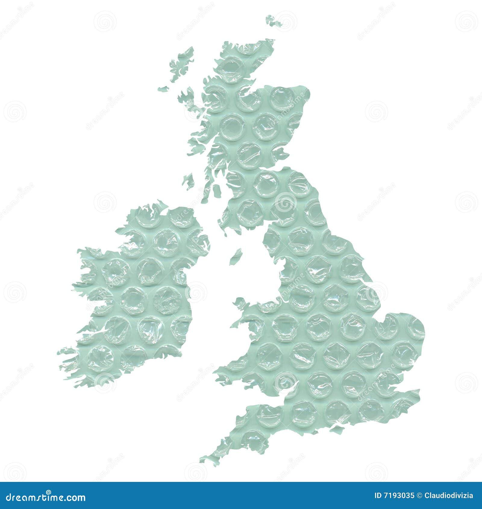 χάρτης UK