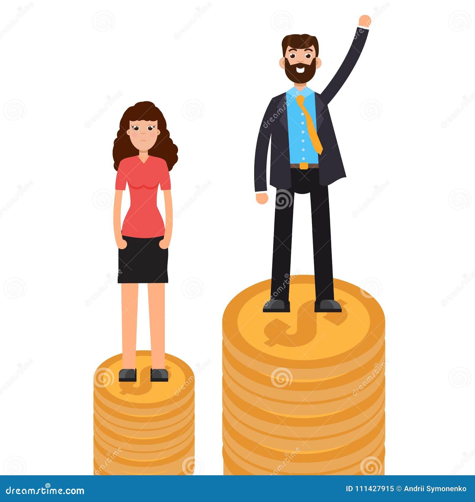 Χάσμα γένους, επιχειρησιακή διαφορά και διάκριση, άνδρες εναντίον των γυναικών, έννοια ανισότητας
