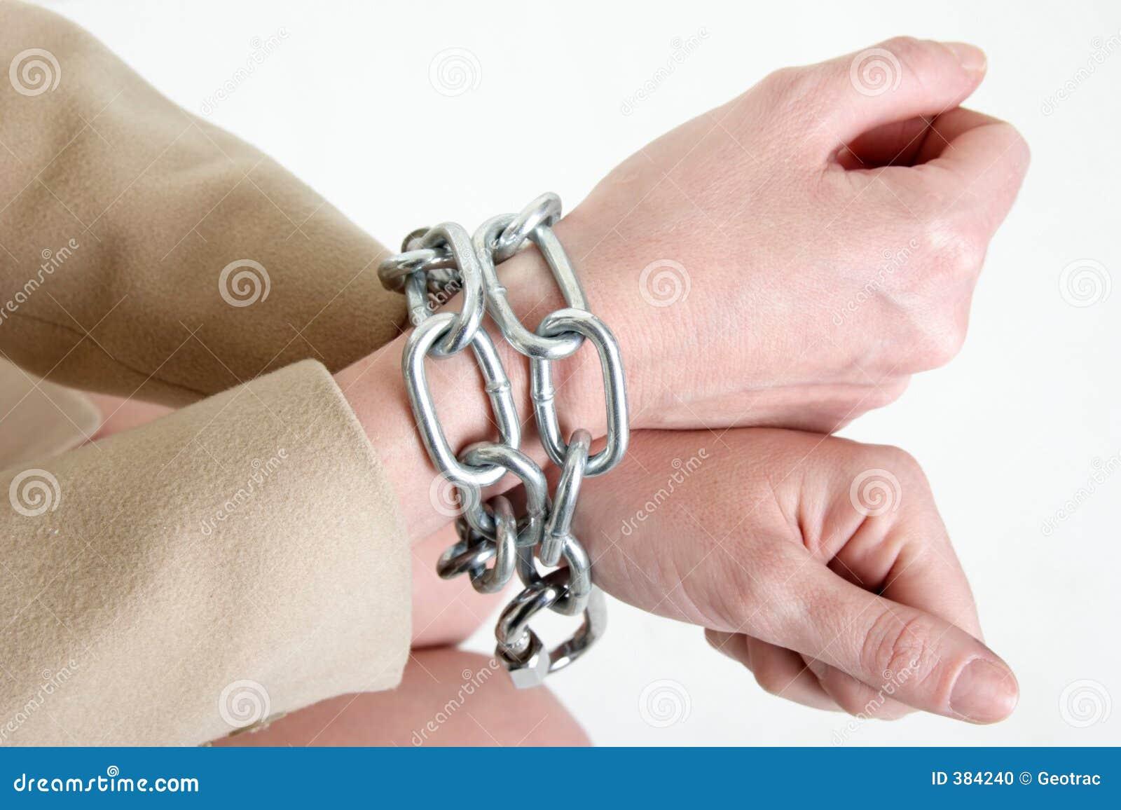 χέρια αλυσίδων
