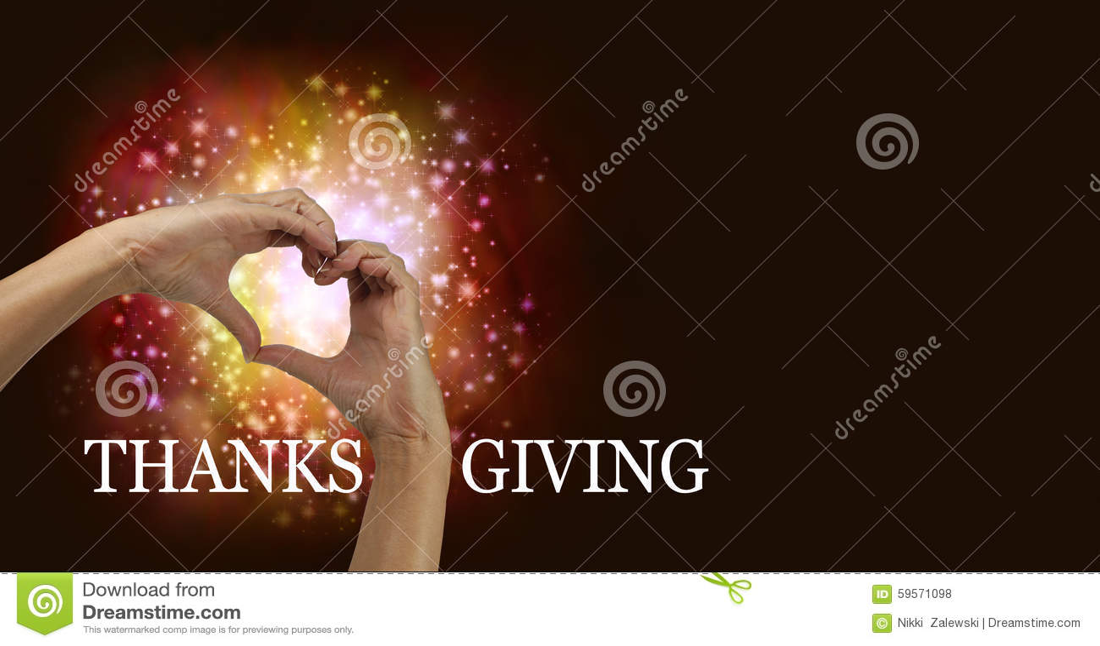 Χέρια καρδιών ημέρας των ευχαριστιών