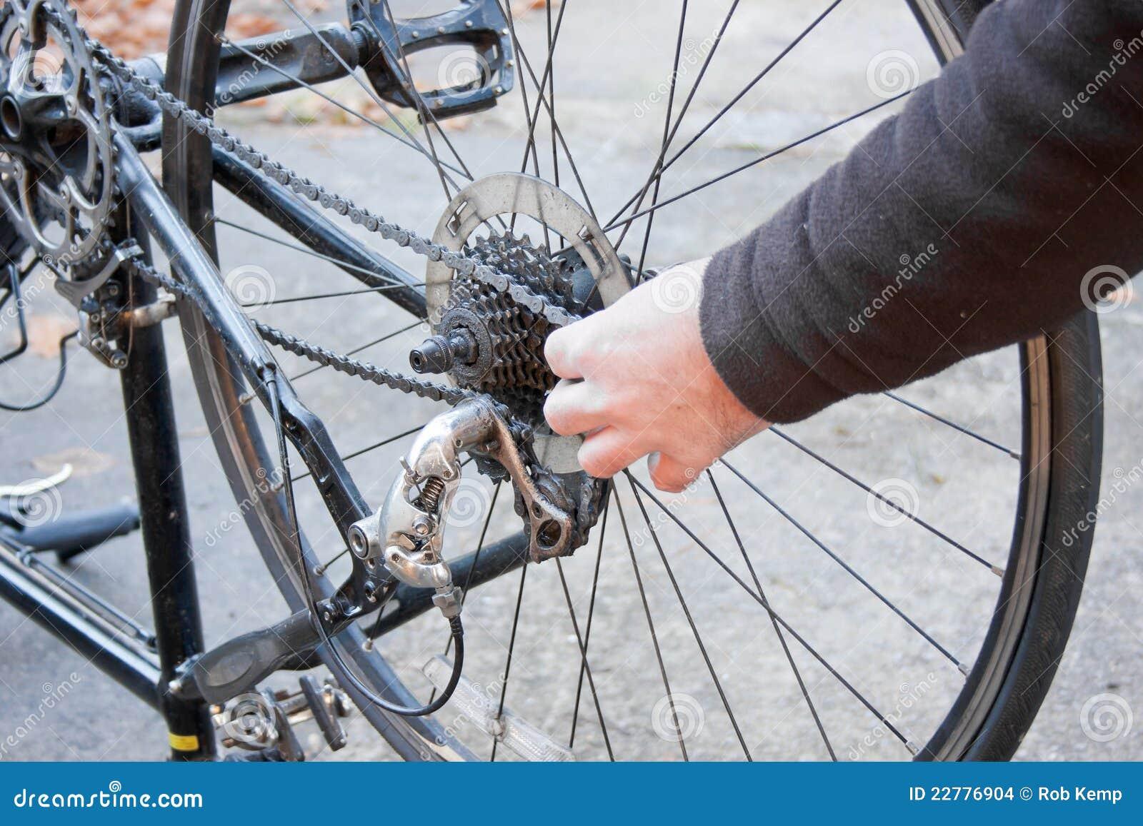 χέρια ποδηλάτων που αφαιρ&