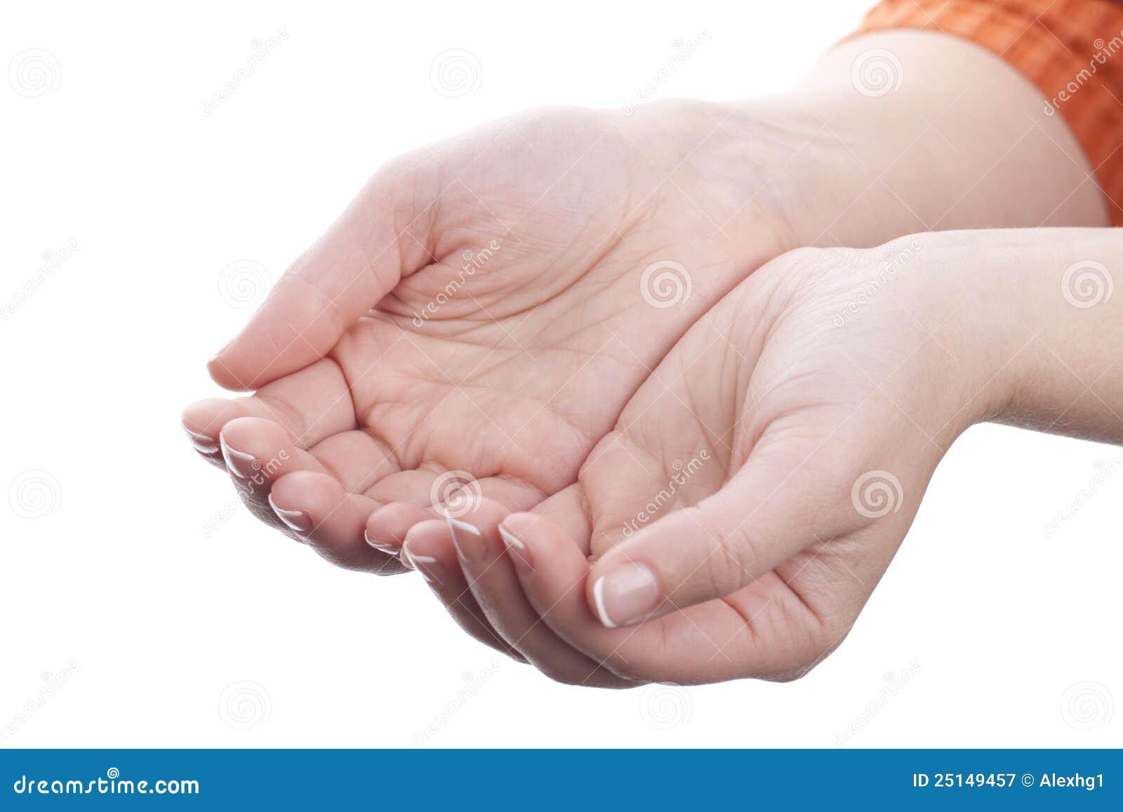 χέρια που δεν κρατούν τίποτα