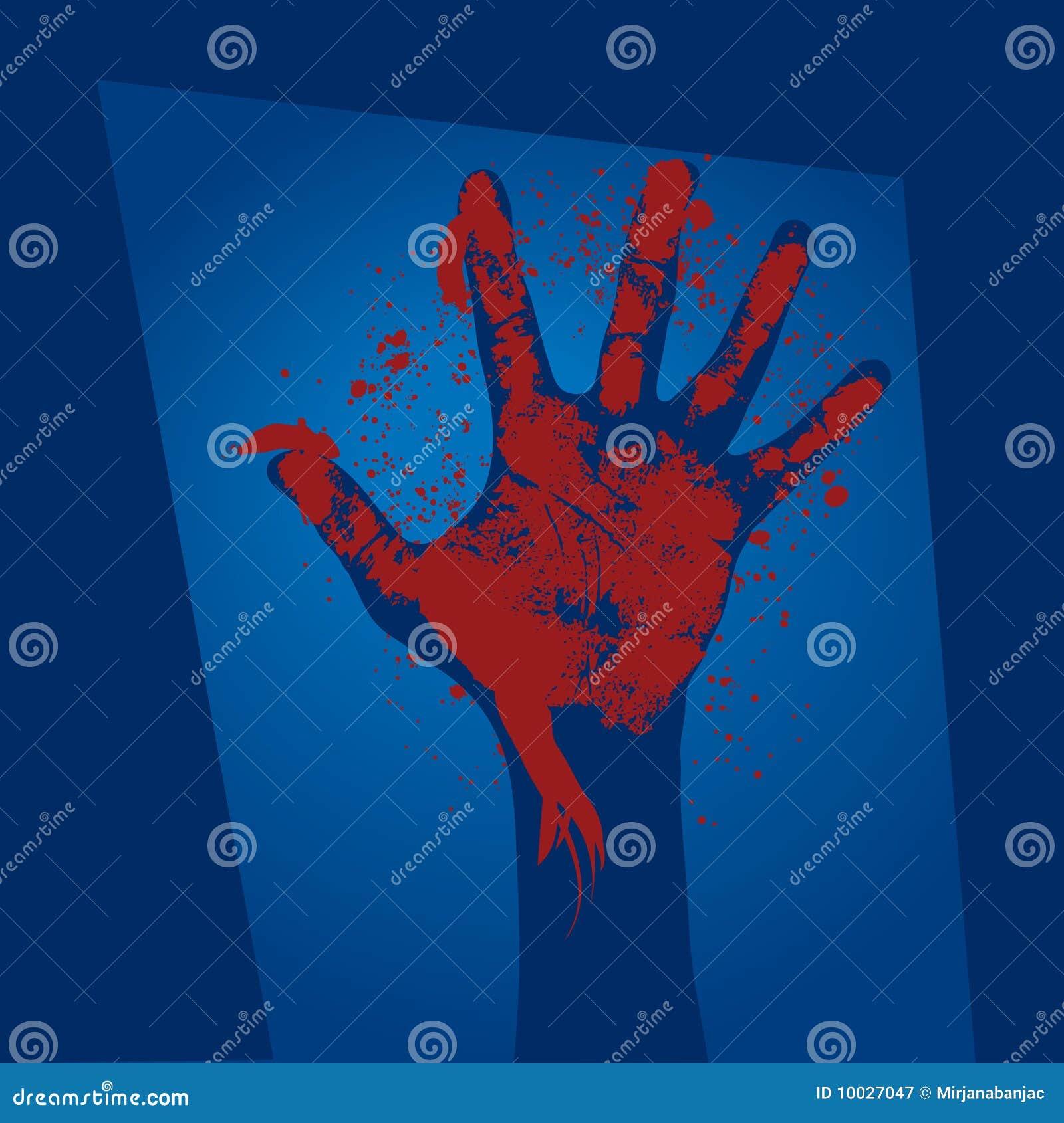 χέρι αίματος