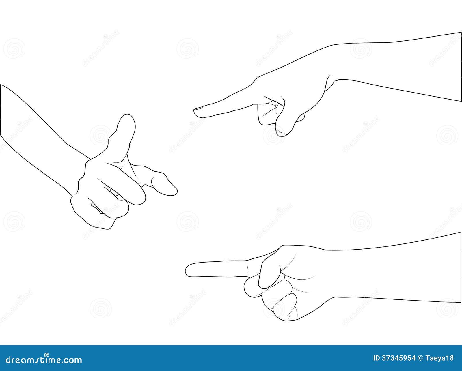 Χέρι καθορισμένο B_point