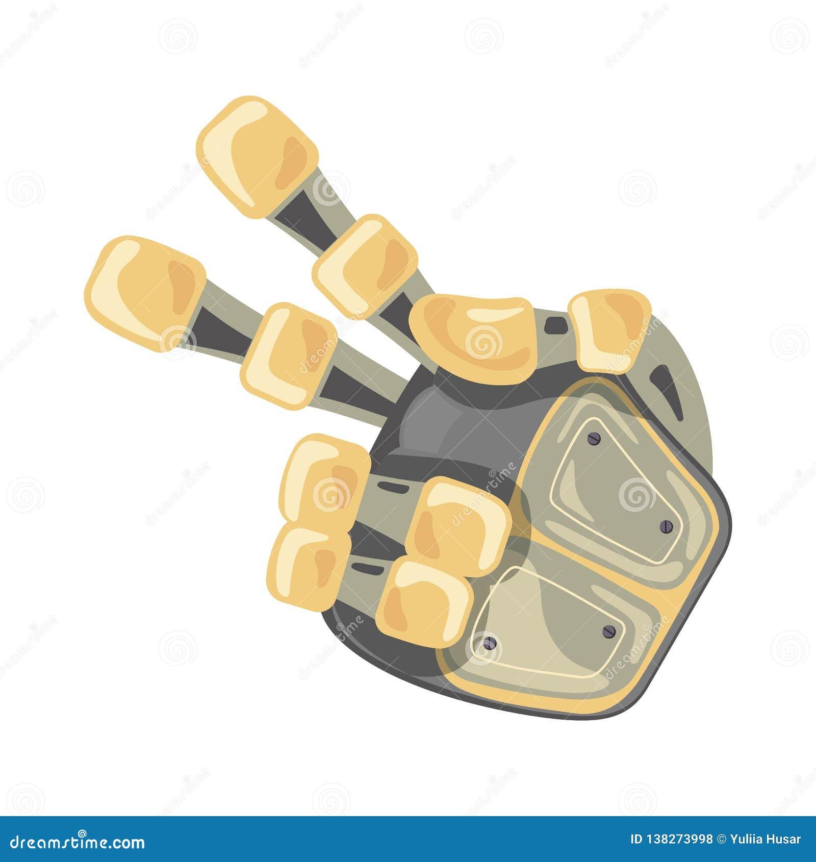 Χέρι και πεταλούδα ρομπότ Μηχανικό σύμβολο εφαρμοσμένης μηχανικής μηχανών τεχνολογίας χέρι χειρονομιών Δύο Δείκτης δεύτερος Φουτο