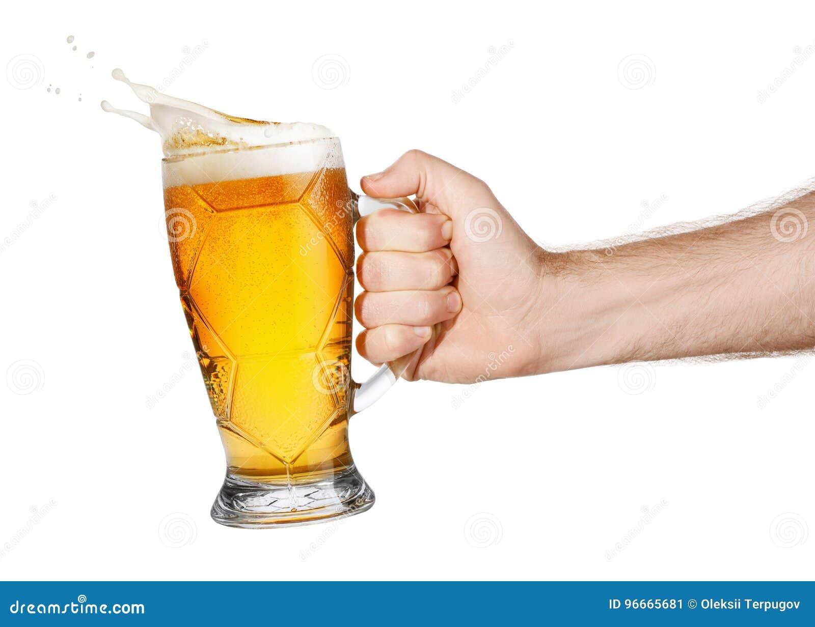 Χέρι με την μπύρα