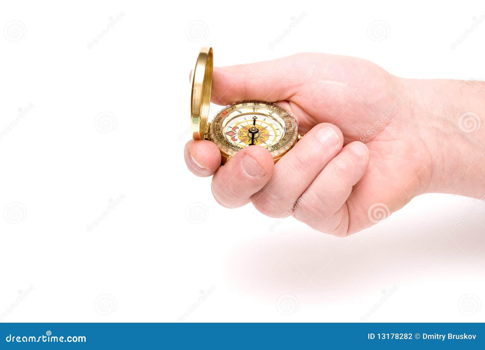 χέρι πυξίδων